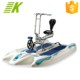 CE hot-sale water bicycle pedal boat for 2 people