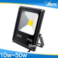 2017 Anern 10w 20w 30w 40w 50w IP65 outdoor led flood light