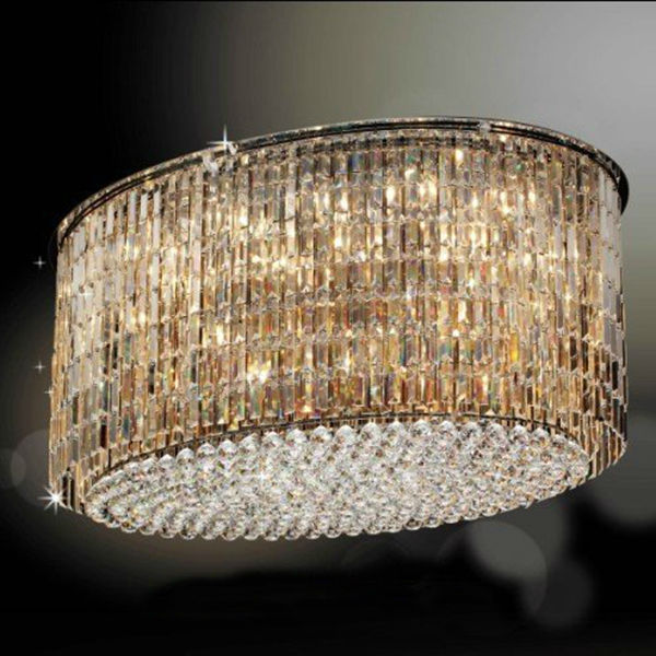 Cloud Shape Lights Big Square Ceiling Lights Fixture LED Contemporary Chandelier for Hotel Projects PP012