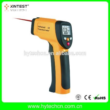 Portable Non-contact Digital Laser Infrared Thermometer IR High Temperature Gun Tester Pyrometer with Back light LCD Display