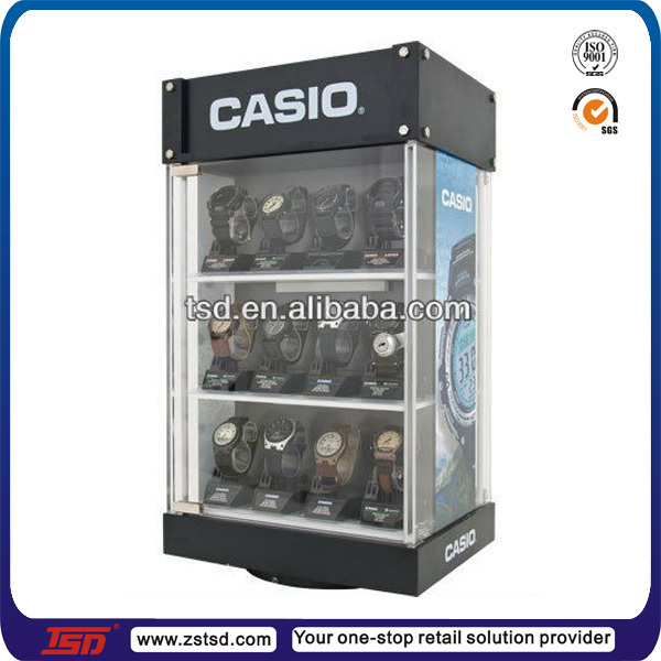 Tsd W003 Factory Custom Design Fashion Watch Display Showcase Cabinets