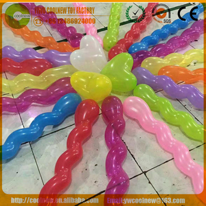 Long screw balloon Snake balloon,Sprial balloon for Decoration for factory