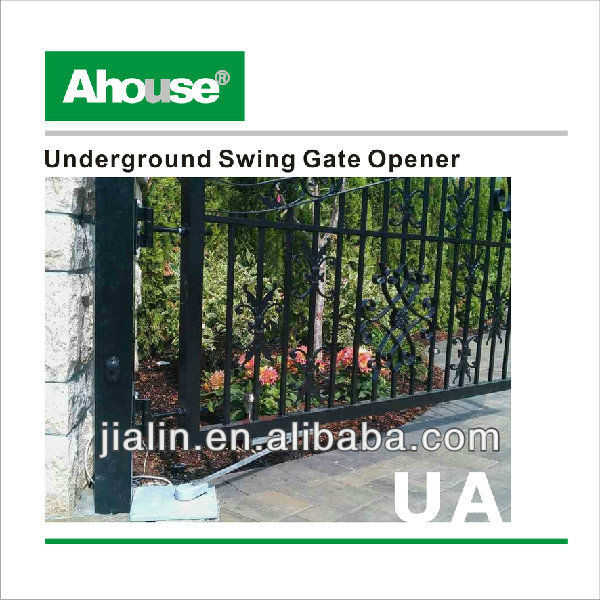 automatic swing gate opener/remote control electric door lock