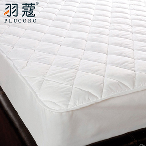Luxury Elastic Fitted Hotel Mattress Protector Cover For 5 Star Hotel