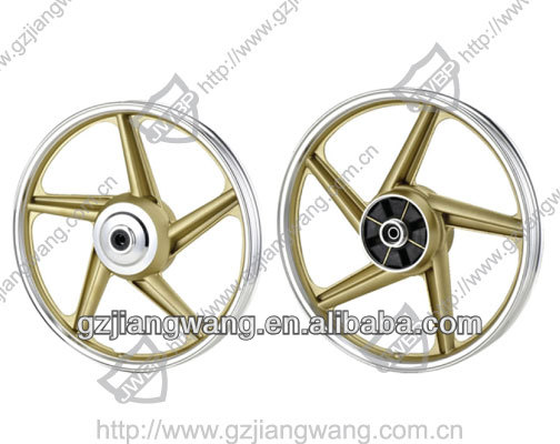 WY-125 Motorcycle chrome rim 1.40-18