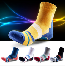 Big size Mens cotton sport running socks
