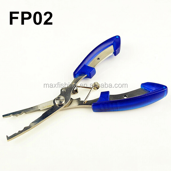 Stainless steel cutting fishing pliers buy plier fishing for Stainless steel fishing pliers