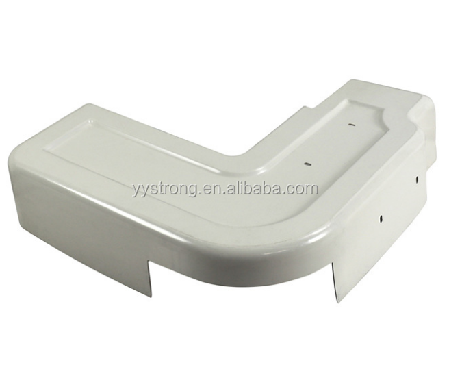 Customized high quality abs plastic thermoforming vacuum forming molded tray