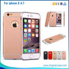 Luxury Plastic Back Cover For iPhone 6, For iPhone6 Hard Case, For iPhone 6s Plus Case