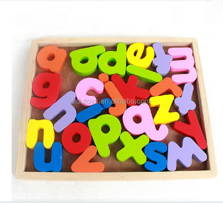Alphabet Educational Toys : Colorful alphabet letter educational toys preschool