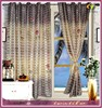 100% polyester rose printing stripe luxury curtain fabric window curtain