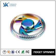 Sanke 2017 Factory Fast Delivery rainbow wheel high Quality Metal Fidget Hand Spinner