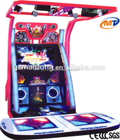 Arcade Dancing game machine / Dance hero amusement games for young guys for sale