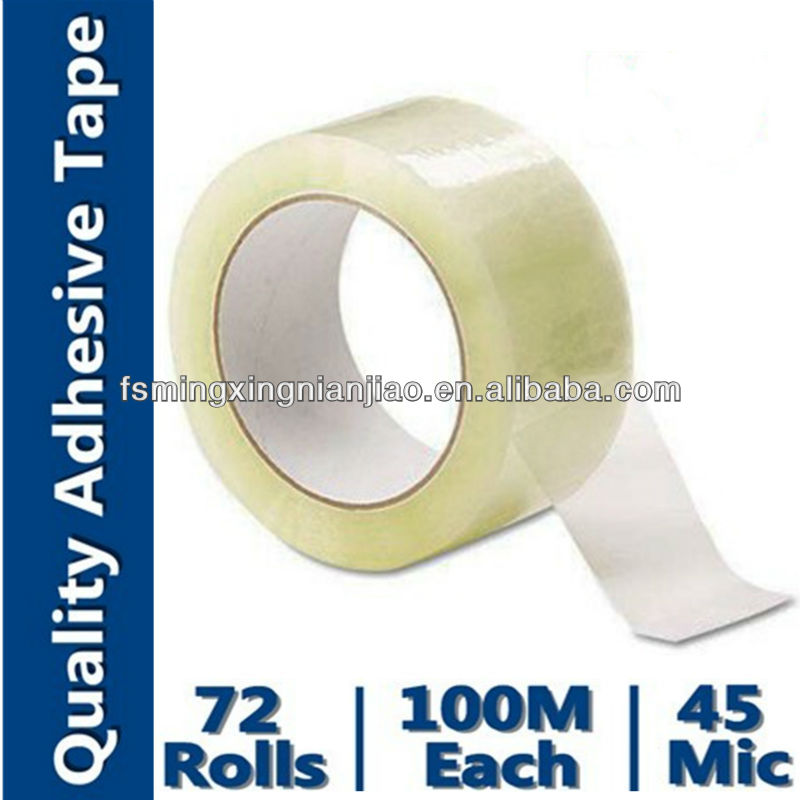 "Commercial Grade Packaging Tape 2"" x 90 yds 3"" Core Clear 36/Pack"