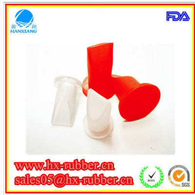 food grade silicone rubber duckbill check valve for medela