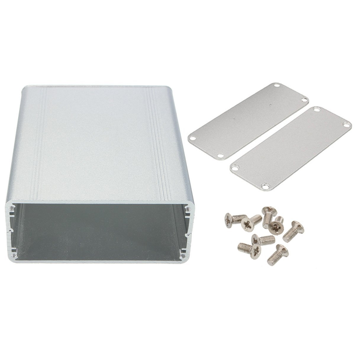 Splitted DIY Extruded Aluminum Electronic Box Project Electronic DIY Enclousure Case