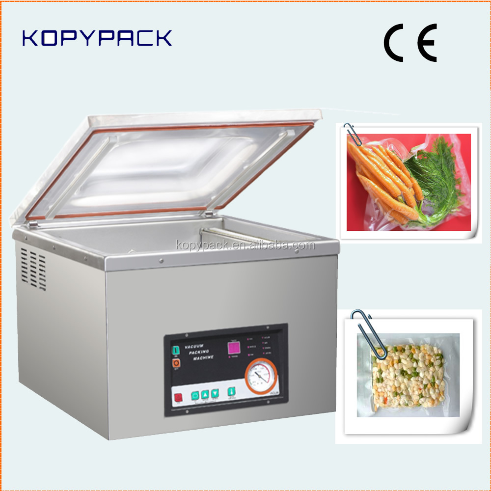DZ-400(2s) Automatic Table Top Sous Vide Food Skin Vacuum Packaging Machine
