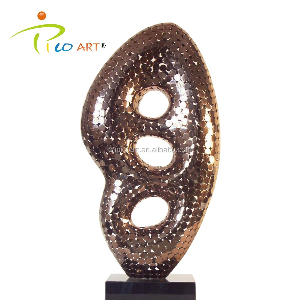 Hand welded abstract art modern metal home decorative sculpture