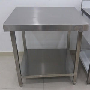 High Quality Commercial SS304 Base Work Table for Restaurant