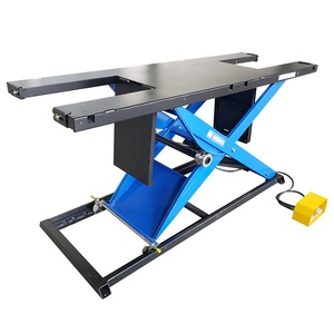 custom lifting table providers Pneumatic scissor mini motorcycle lift jack with ramp