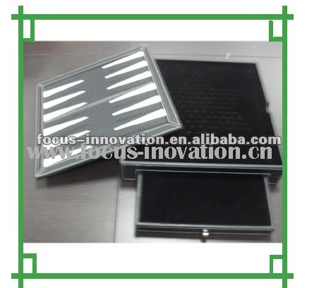 high quality leather chess board