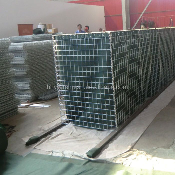 Military-perimeter defensive barriers security barriers hesco bastion