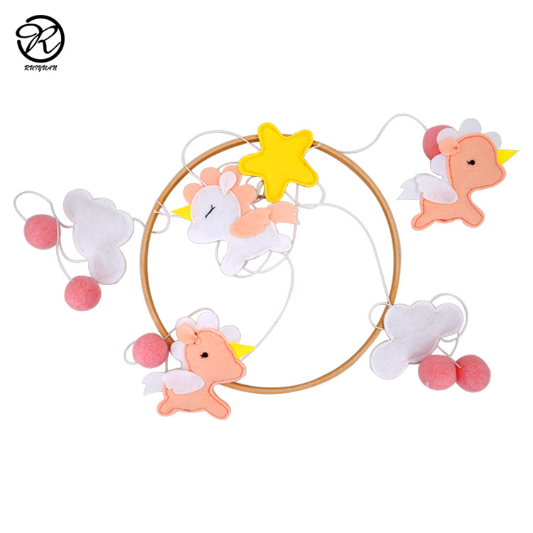 animal design Baby Nursery Crib Mobile For Boys and Girls