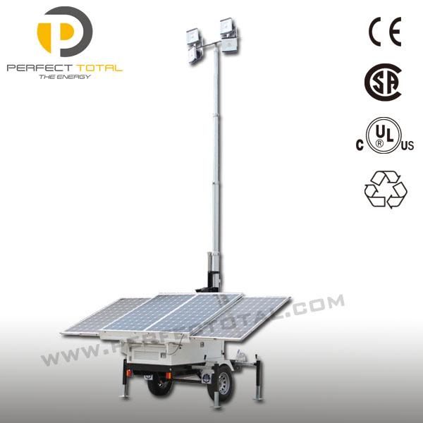 400w Led Solar Tower Light