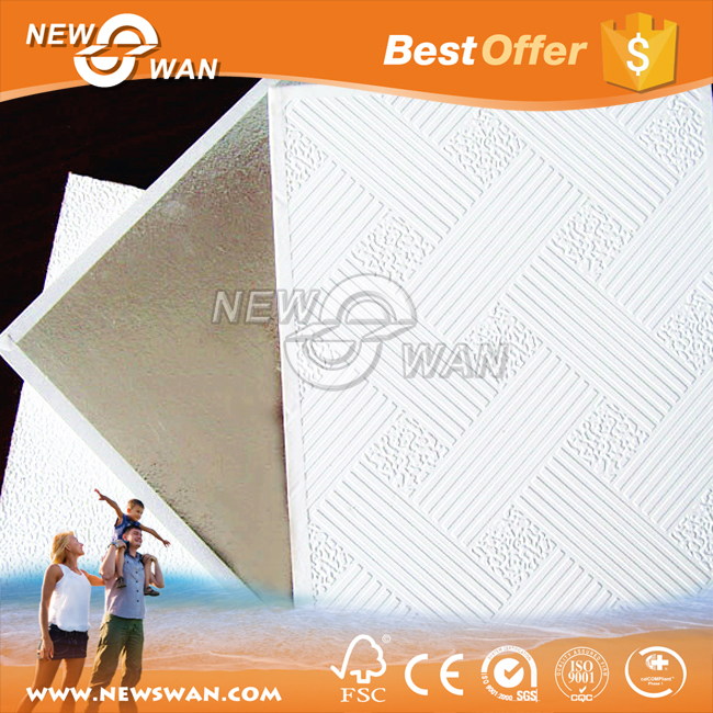 Gypsum Board Interior Ceiling Design / Hanging Drywall Ceiling Prices