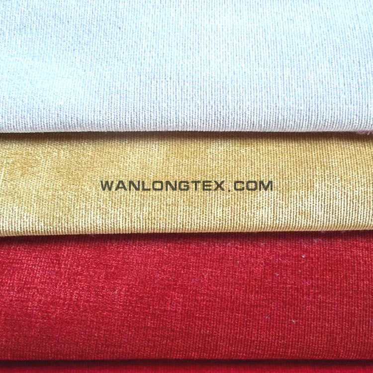 Synthetic types of corduroy fabric China <strong>polyester</strong> used for furniture