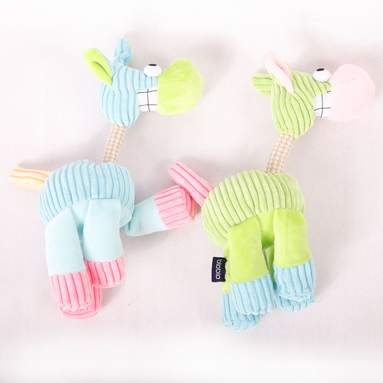 Wholesale Pet Squeak Chew Plush Toy for Dog Cat Pet