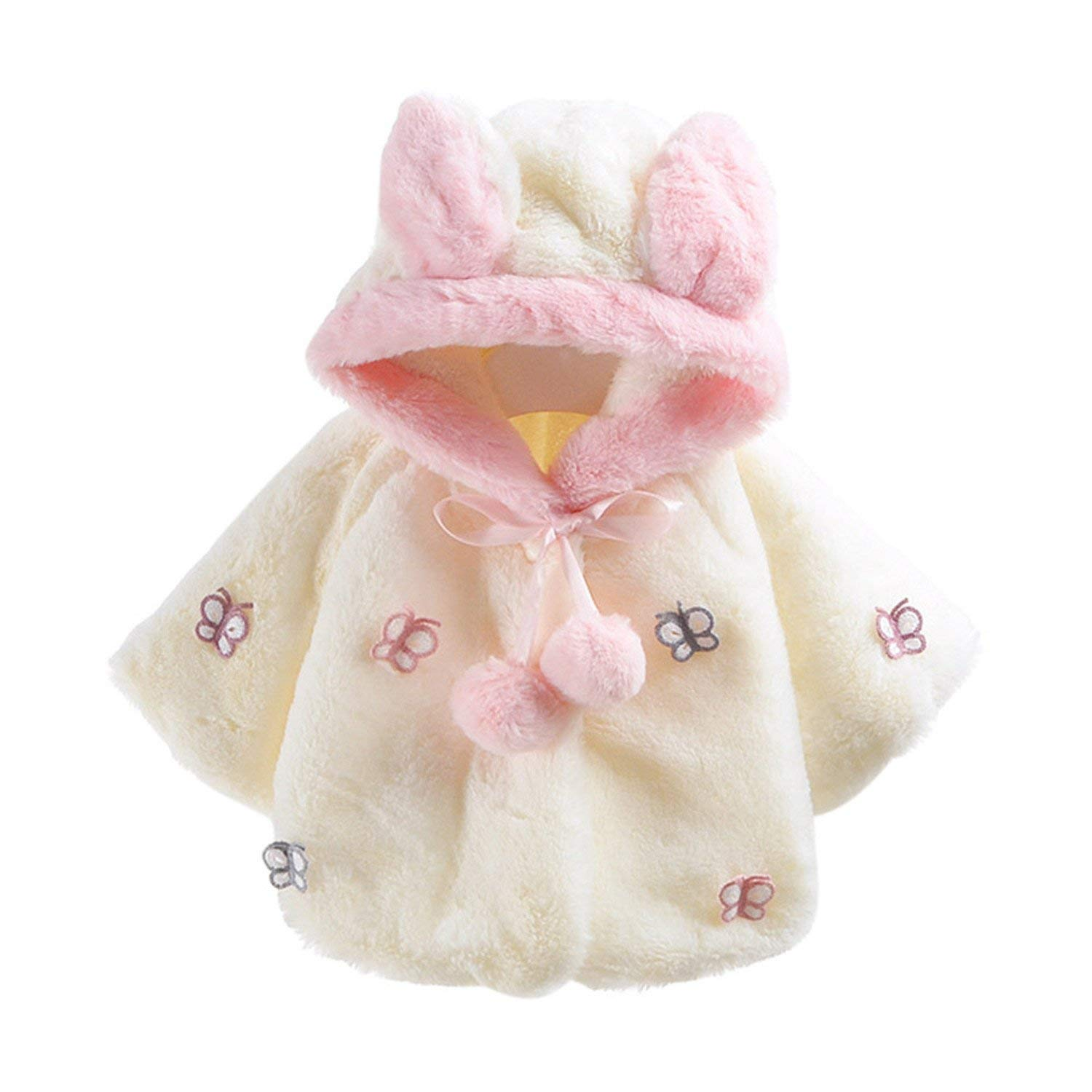 Samuel Roussel ChildrenS Winter Girl Coat Autumn Winter Hooded Coat Cloak Jacket Thick Warm Clothes