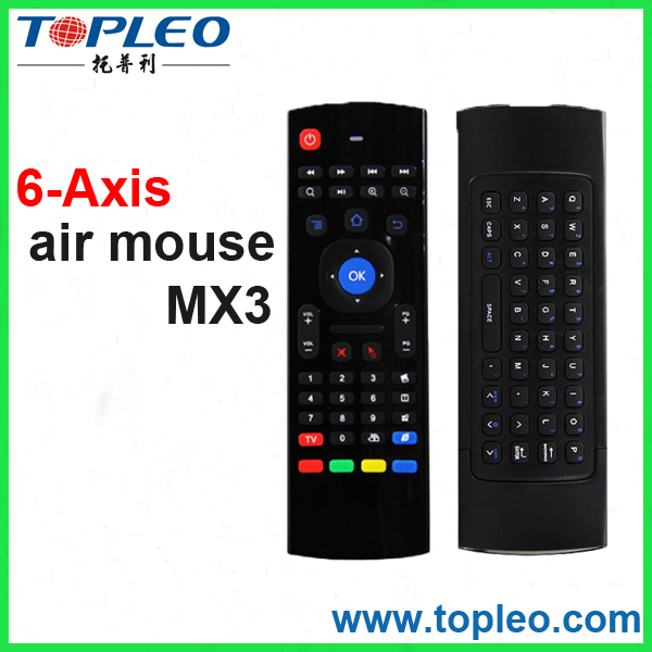 Factory Supply 2.4Ghz Wireless Remote Control Microphone mx3 air remote