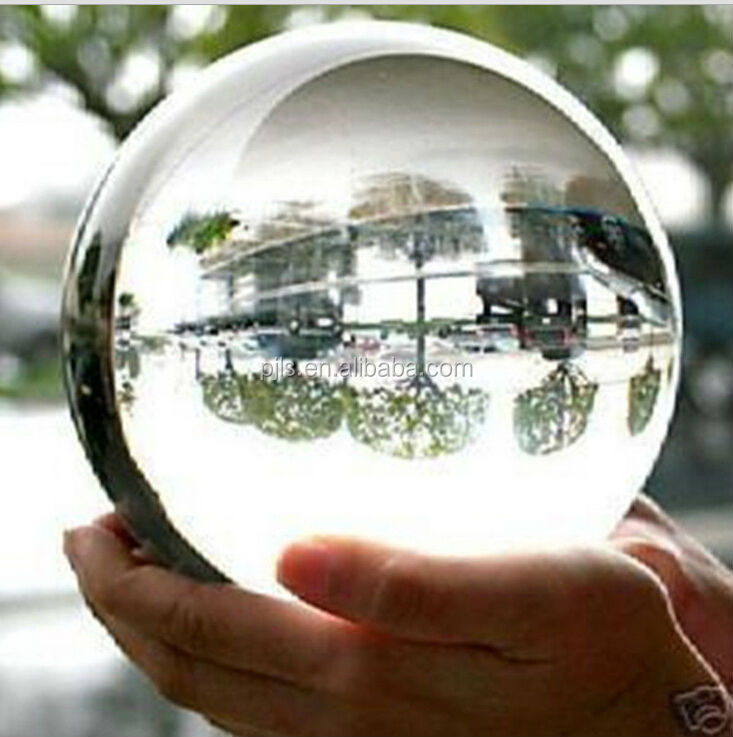 110mm christmas clear ball glass marble wholesale