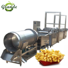 Full Set Production Line Potato Crisp Maker/Potato Flakes Processing Line