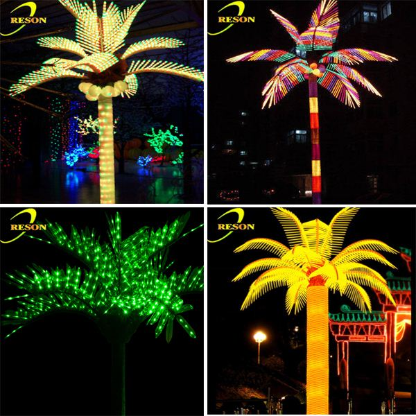 Pretty Latest Products Solar Lighted Palm Trees