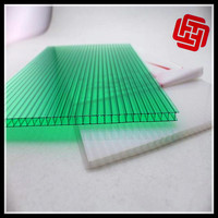 Desmond polycarbonate multi-wall sheet with UV layer on both sides 6mm top quality colored