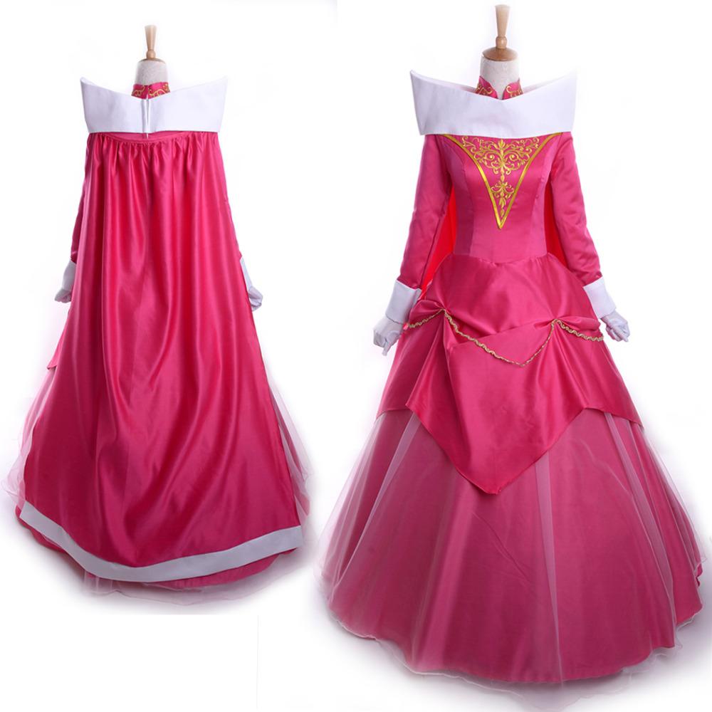 Buy sleeping beauty costume women adult princess aurora cosplay ...