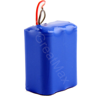 rechargeable li-ion battery pack 12v 6ah portable battery for electric equipment