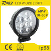 7 inch 60w led driving lamp led flood light magnetic led working lamp