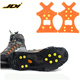 JDI Full Foot Anti-Slip Protection With 10 Steel Climbing Crampons Spikes