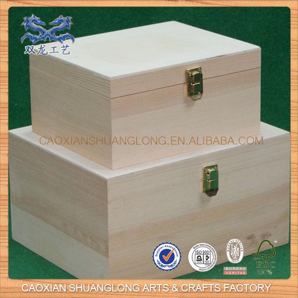 Artesan as de madera peque as cajas arte y coleccionables for Cajas de madera pequenas