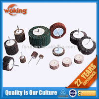 Surface finishing polishing nylon grinding wheels