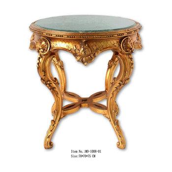Style Baroque Table Ronde Avec Dessus En Marbre Buy Table Ronde
