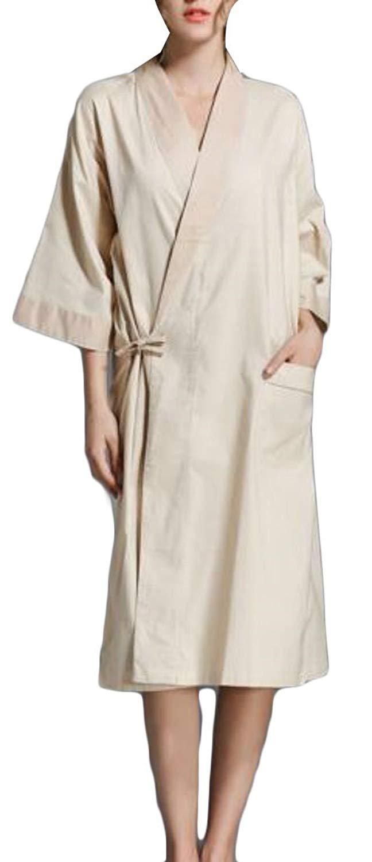 Get Quotations · Etecredpow Womens Lounge Kimono Sleepwear Bathing Loose  Bath Robe Comfortably Robes 2ff97836a