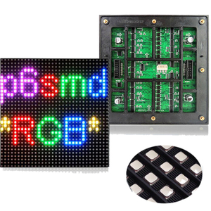 Customized indoor SMD colorful digits electronic message boards for video wall screen