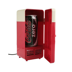 USB Gadget Cooler Warmer Mini Fridge