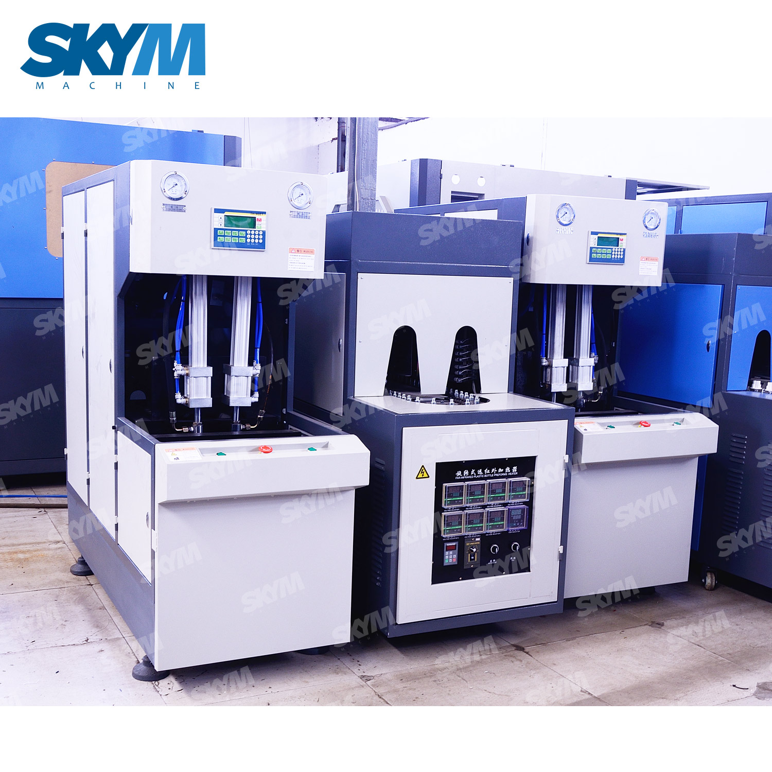 3000BPH 500ML Compact Stable Power Saving Automatic Bottle Blowing Molding Making Machine Making Machinery