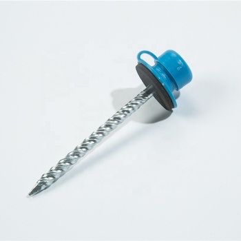 Plastic Cap Nails Under Metal Roof Nail Ftempo