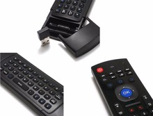 Double keyboard Wireless MX3 Air Mouse With IR Remote